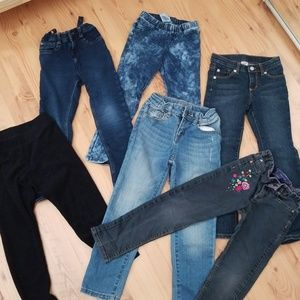 Lot of six pairs pants size 5t